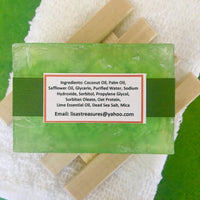 Lisa's Treasures Margarita Soap ingredients