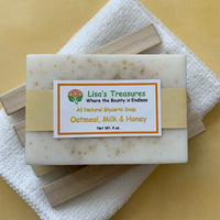 Lisa's Treasures Oatmeal, Milk & Honey Soap