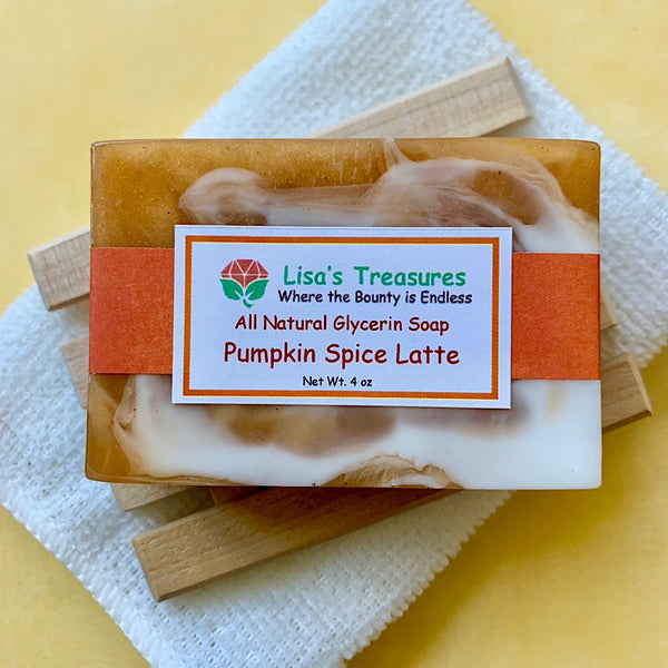Lisa's Treasures Pumpkin Spice Latte Soap