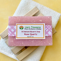 Lisa's Treasures Rose Quartz Soap