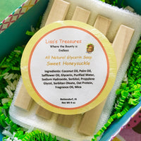 Lisa's Treasures Sweet Honeysuckle Soap ingredients