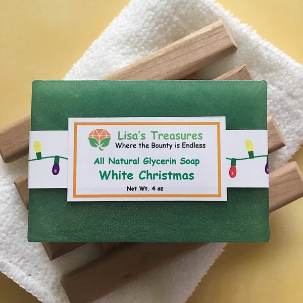 Lisa's Treasures White Christmas Soap