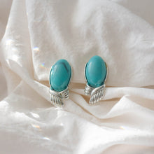 The Cutest Turquoise Clip-on Earrings