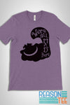 Alice in Wonderland Cheshire Cat We're All Mad Here T-shirt
