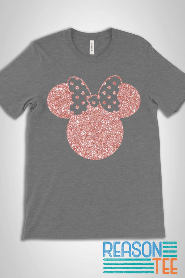 Minnie Glitter T-shirt
