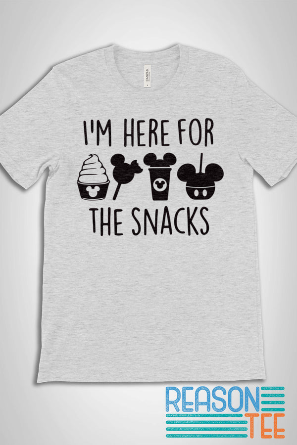 I'm Here For The Snacks T-shirt