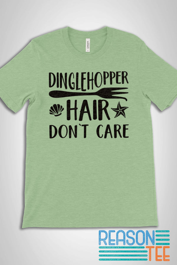 Dinglehopper Hair Don't Care T-shirt