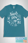 Peter Pan Never Grow Up T-shirt 2