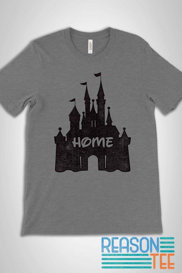 Retro Vintage Disney Castle T-shirt