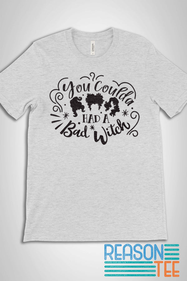 Hocus Pocus You Coulda Had A Bad Witch T-shirt