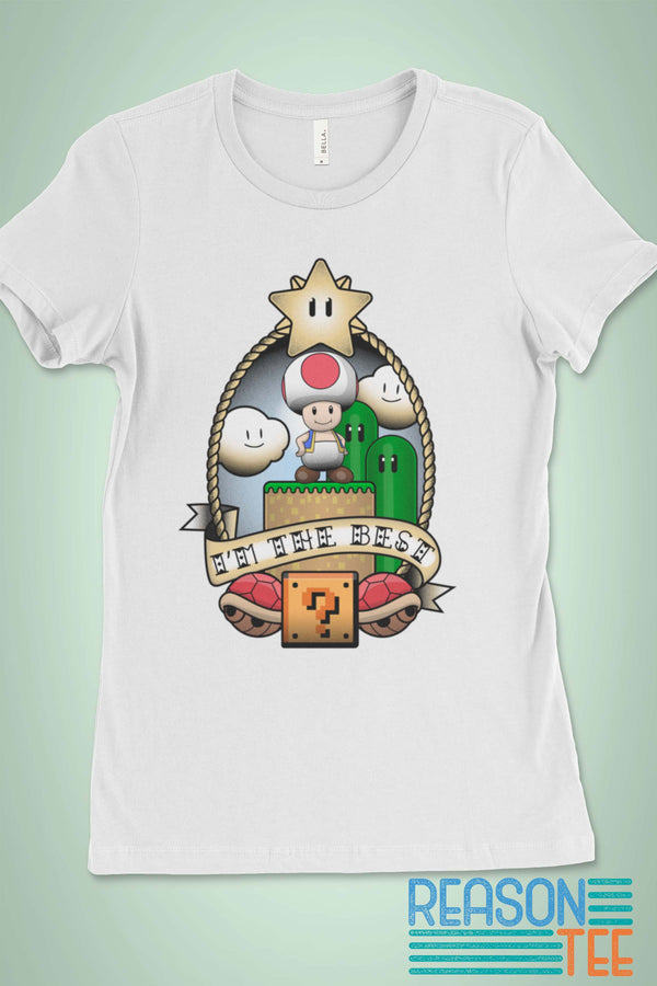 Mario Kart Toad's The Best T-shirt