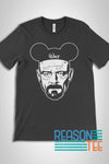 Walt White Breaking Disney T-shirt