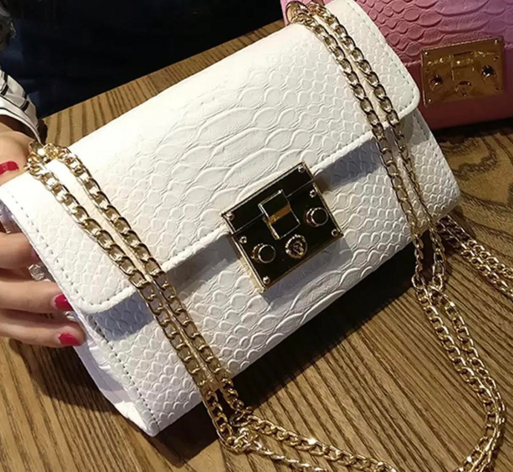 White Out Purse