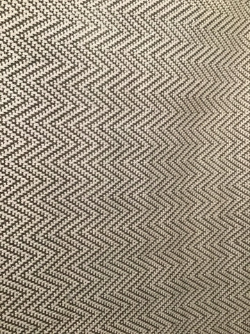 Tan & Chocolate Woven Chevron 5x8 Rug