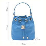Riviera Pouch Bag Blue