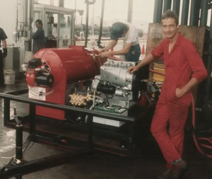 Fred Ramonda's First Pressure Washer in 1983