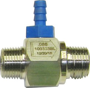 "2.2 Downstream Injector SS 3/8"" MPT Fixed"