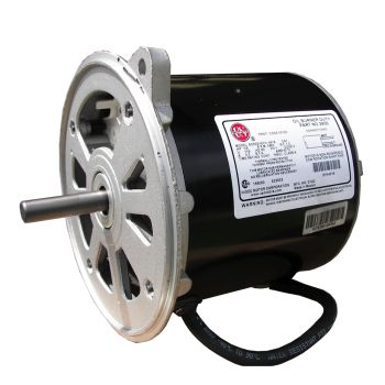 AC Burner Motor, 1/5 HP / 120V / 60HZ / 3.2A / 3450RPM / 48N - washmart
