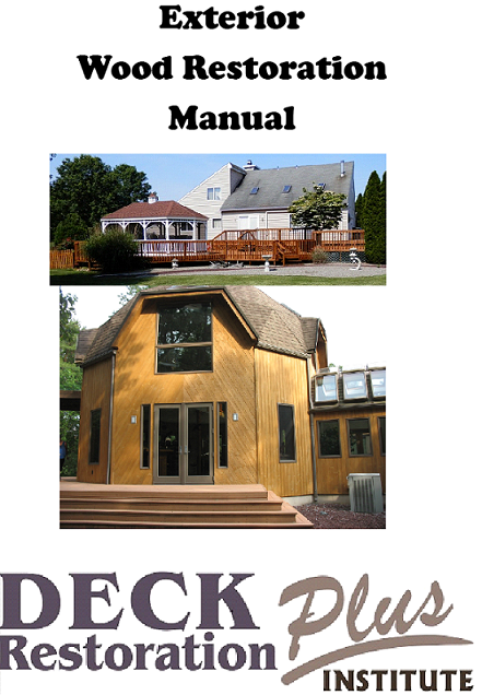 Exterior Wood Restoration Book - washmart