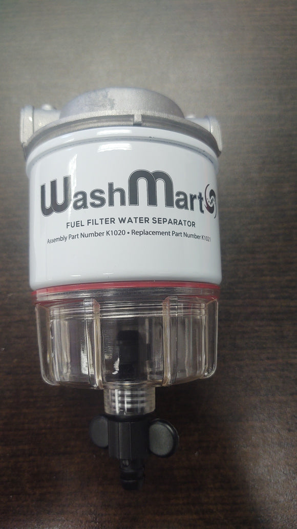Fuel filter and housing - WashMart
