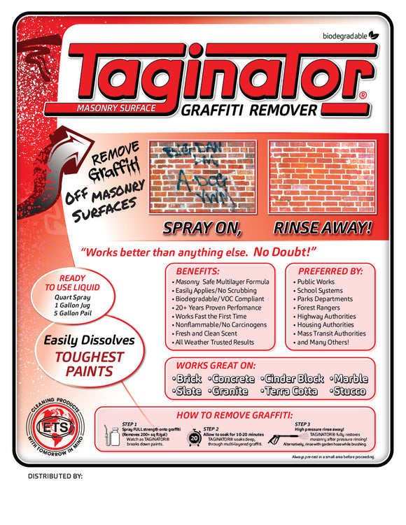 Taginator Graffiti Remover - washmart