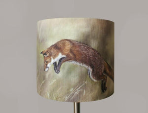 Leaping Fox Lampshade