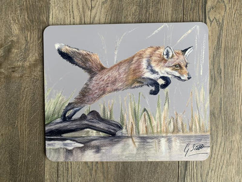SECOND Leaping Fox Placemat