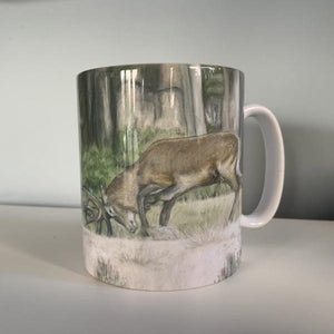 Stags Fighting Mug
