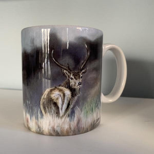 Stag Through Heather  Mug