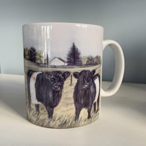 Belted Galloway Farming Themed Mug