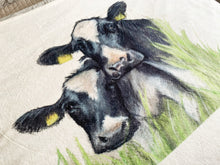 Friesian Cow Soft Blanket