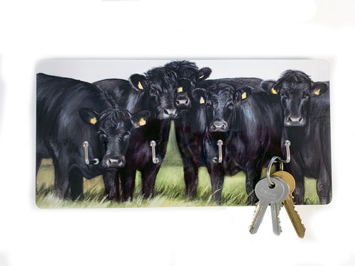 Aberdeen Angus Key Holder