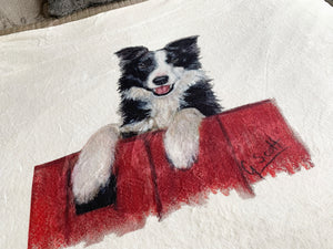 Collie Super Soft Blanket
