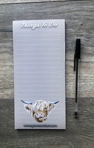 Highland Cow To Do List