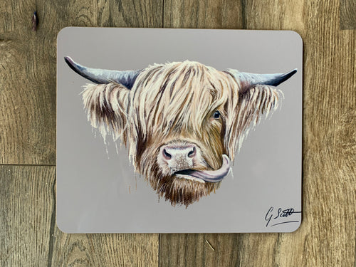 SECOND Highland Cow Placemat