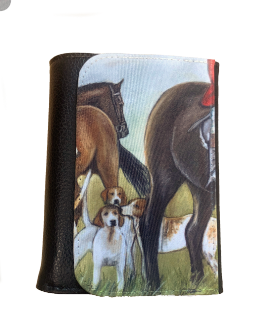 Horse And Hounds Countrysports Themed Wallet