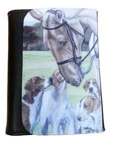 Horse And Hounds Country Sports Themed Wallet