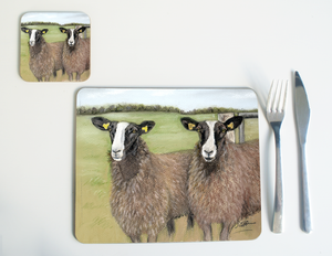 Zwartble Sheep Placemat