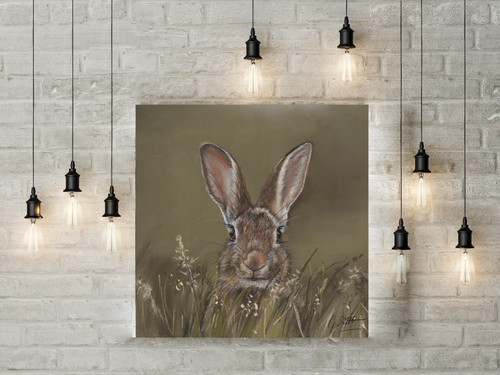 Hare Limited Edition Canvas Print