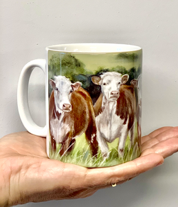 Herefords Farming Themed Mug