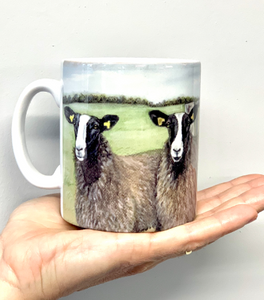 Zwartble Sheep Farming Themed Mug