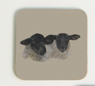 Suffolk Sheep Coaster