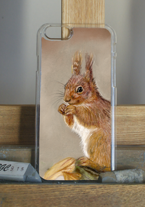 Red Squirrel Phone Case