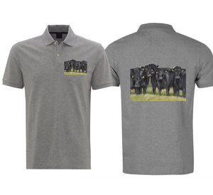 Aberdeen Angus Mens Polo Shirt