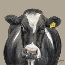 Friesian Cow Limited Edition Canvas Print
