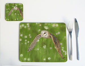 Barn Owl Placemat