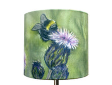 Bee on Thistle Lampshade
