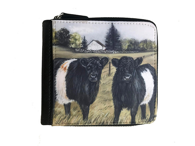 Belted Galloways Small Luxury Purse