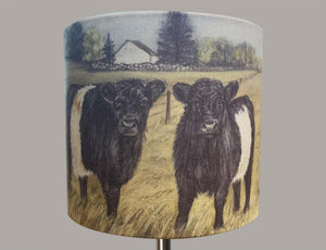 Belted Galloway's Lampshade