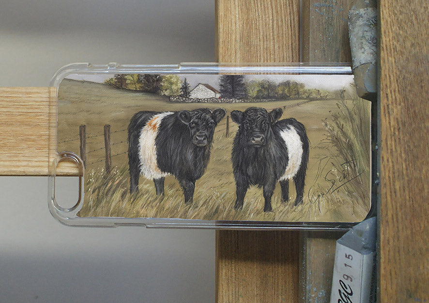 Belted Galloway Cows Phone Case